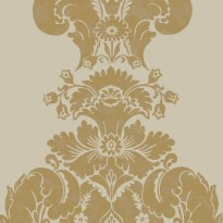 Cole and Son Albemarle Baudelaire 94-1003 Cream Gold