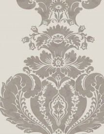 Cole and Son Albemarle Baudelaire 94-1004 Cream Silver