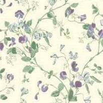 Cole and Son Archive Anthology Sweet Pea 100-6030 Green Purple